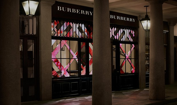 La beauty box Burberry à Londres : la beauté digitale