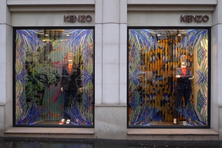 Kenzo ouvre un pop-up store au Printemps