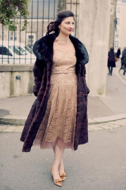 Protégez-vous du froid avec un manteau en fourrure véritable