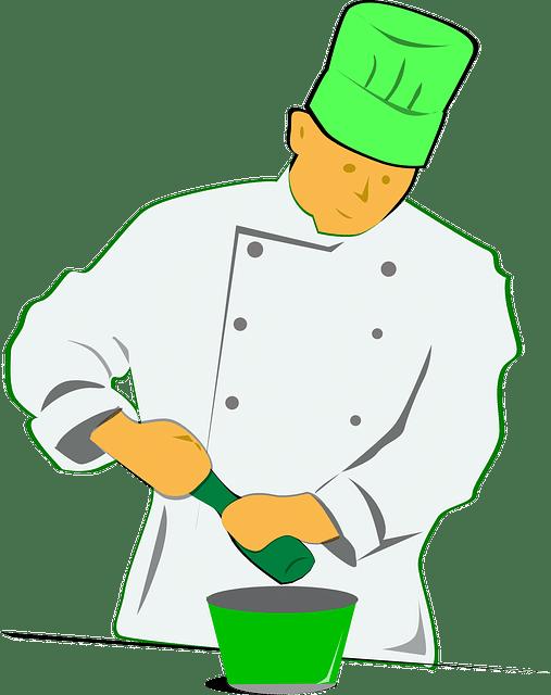 La tendance pour les vestes de cuisine